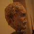 Portrait head of the orator Demosthenes image