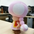 Toadette from Mario games - Multi-color image
