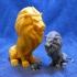 Stormwind Lion Statue image