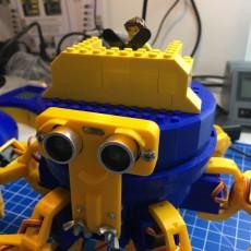 Lego Cap for Vorpal Hexapod