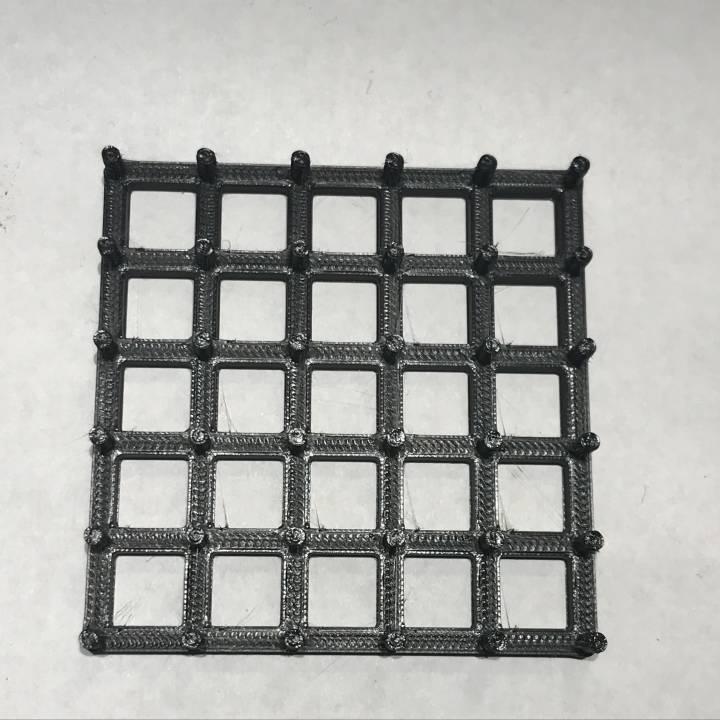 Rubber Band Geometric Board