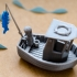 LEO the little fishing boat (visual benchy) image