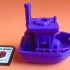 BEN the floating BENCHMARK (Benchy) print image