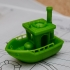 BEN the floating BENCHMARK (Benchy) image