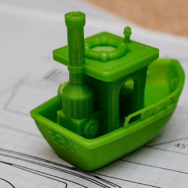 BEN the floating BENCHMARK (Benchy)