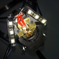 Anycubic kossel Effector ledmount