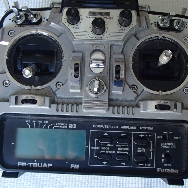 Futaba F8U Battery Cover