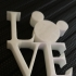 Mickey Love Statue Magnet image