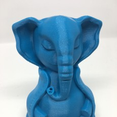 Picture of print of Serene Elephant