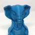 Serene Elephant print image