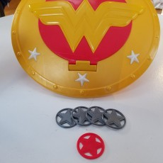 Wonder Woman Shield - Disc Shooter