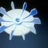 Helice ventilador para motor electrico de 1/2hp image