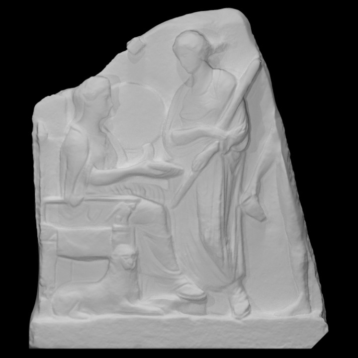 Votive Relief for Cybele, the Mother of the Gods