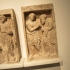 Reliefs from a Funerary Monument: Antigone leads her blind father Oedipus image