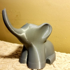 Picture of print of Elephant