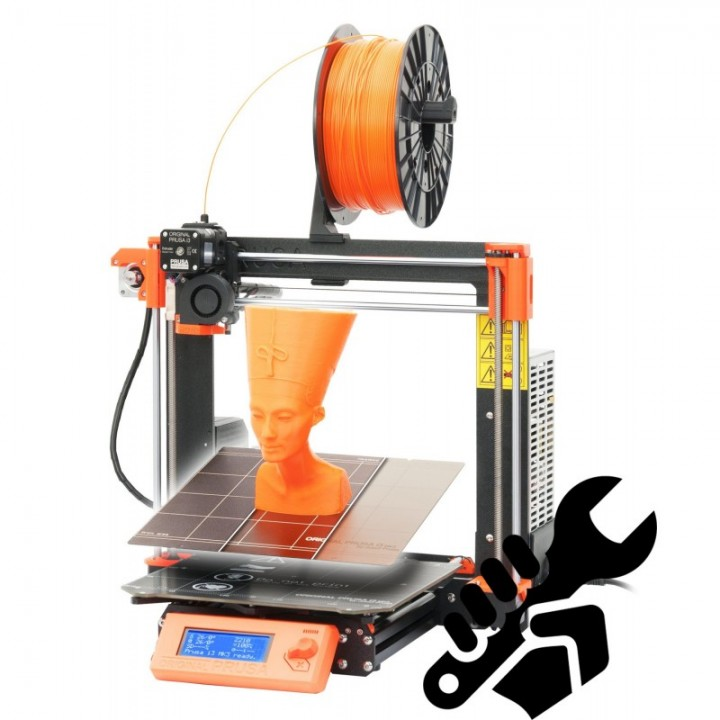 photograph relating to Prusa Printable Parts identified as 3D Printable Primary Prusa i3 MK3 via Prusa 3D