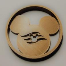Disney Cruise Mickey Ornament