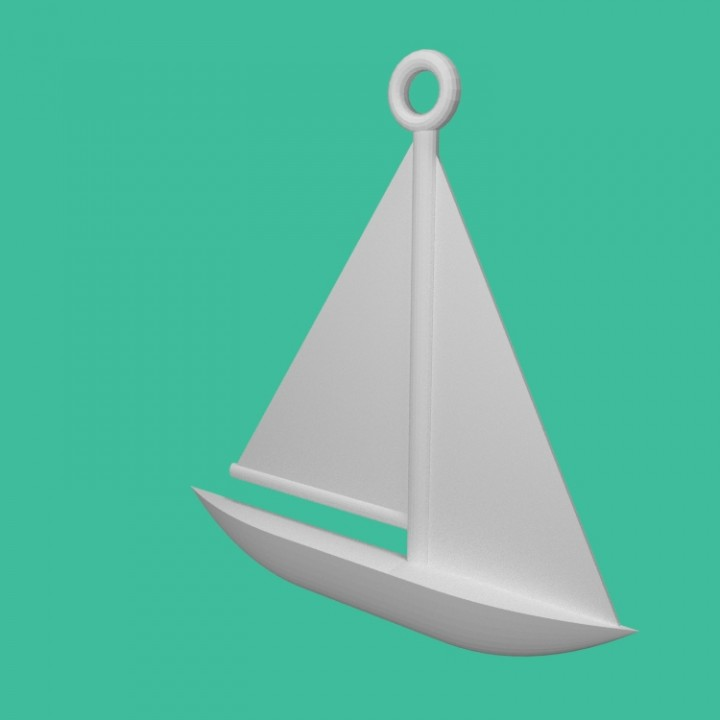 This is an image of Sailboat Printable intended for printable card