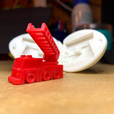 Picture of print of Surprise Egg #5 - Tiny Fire Truck