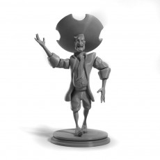 Stan the Salesman fan art articulated figure