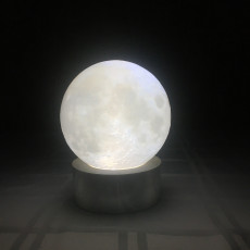 Picture of print of Moon Lamp