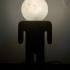 Moon Lamp print image