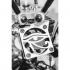 The Eye of Horus grill fan - Griglia occhio di Horus 40mm image