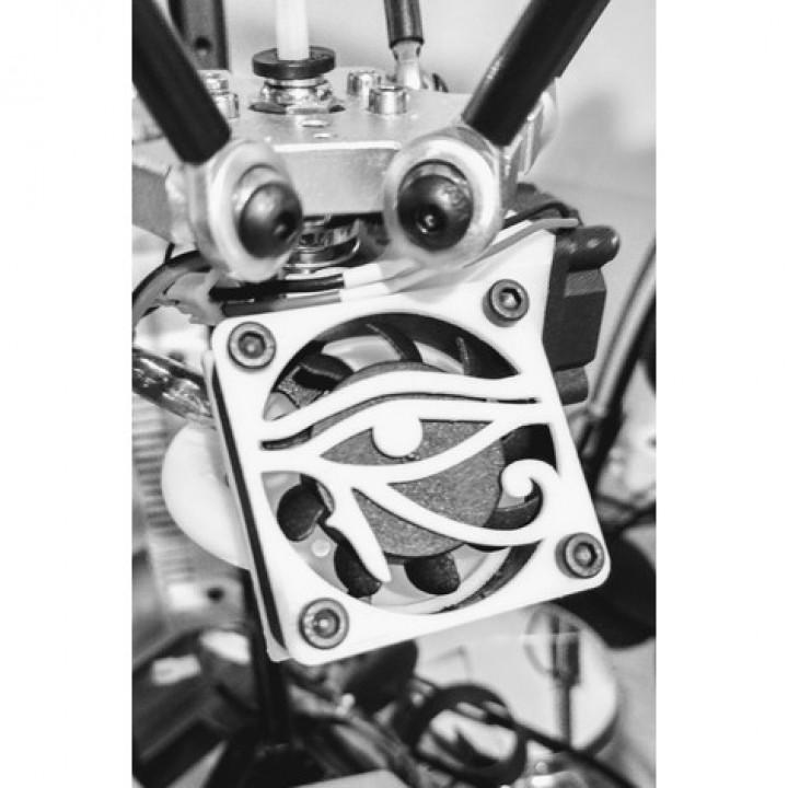 The Eye of Horus grill fan - Griglia occhio di Horus 40mm