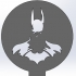 Coffee Stencil - Batman image