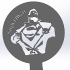Coffee Stencil - Superman image