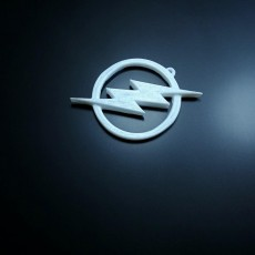 Picture of print of The Flash Logo Keychain