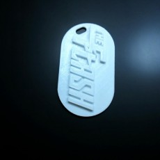 Picture of print of The Flash Keychain
