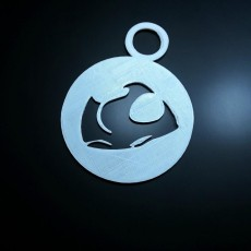 Picture of print of coffee Stencil - thundercats logo