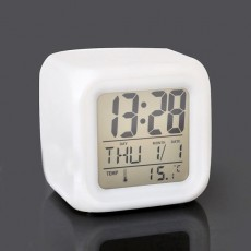 cubic alarm clock battery cover