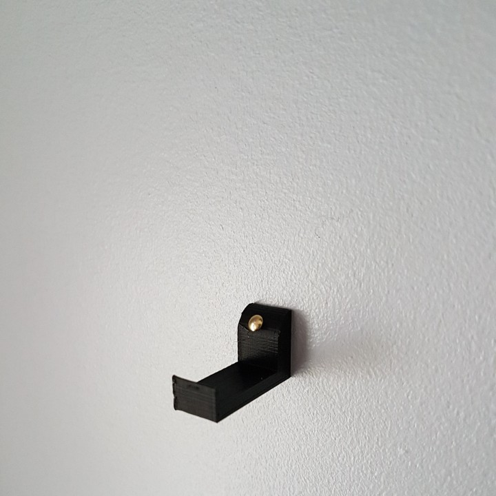 3D Printable IKEA RIBBA Frame Hook by Simon Valerio