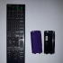 SONY AV System remote control battery cover image