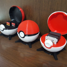 Switch & 3Ds/Ds Cartridge Case - Pokeball