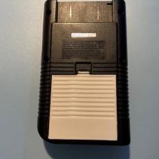 Picture of print of Game Boy (Nintendo) - Battery Door