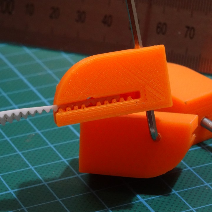 Y axis Belt Clamp for Flsun Cube