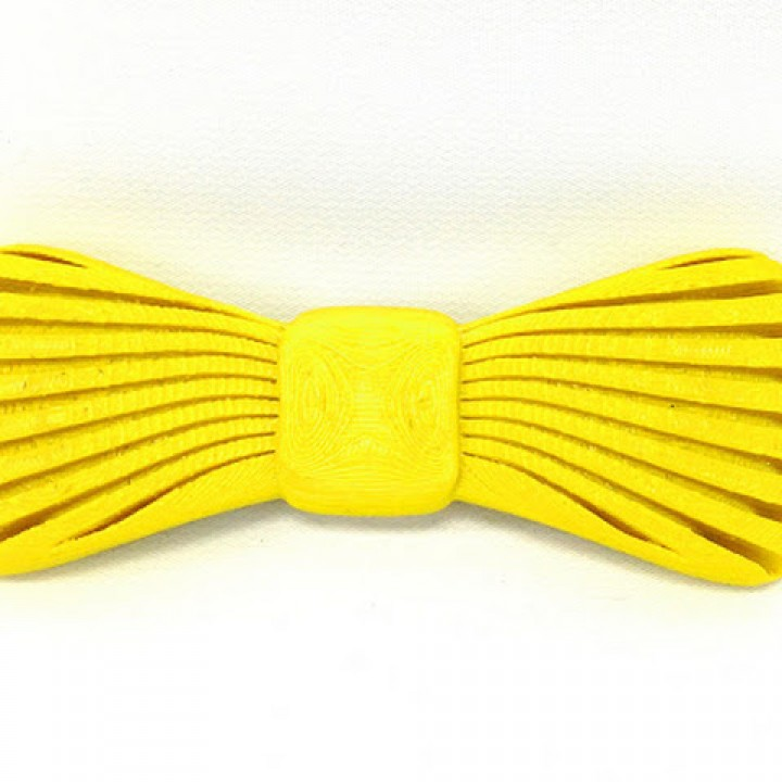 photograph regarding Printable Bow Tie referred to as 3D Printable Bowtie as a result of MatterHackers