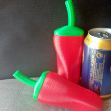 Picture of print of Chili Pepper Maracas