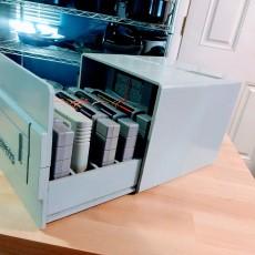 SNES Cartridge Storage