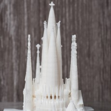 Picture of print of Sagrada Familia, Complete - Barcelona This print has been uploaded by Ghene