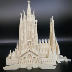 Picture of print of Sagrada Familia, Complete - Barcelona