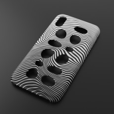 iPhone X case with holes