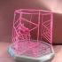 Spiderweb Lantern for Halloween image