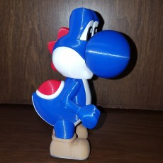 Picture of print of Yoshi from Mario games - Multi-color Cet objet imprimé a été téléchargé par Various Projects