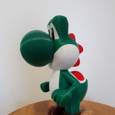 Picture of print of Yoshi from Mario games - Multi-color Cet objet imprimé a été téléchargé par Burla Romain