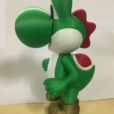 Picture of print of Yoshi from Mario games - Multi-color