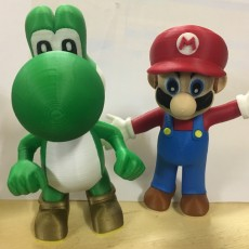 Picture of print of Yoshi from Mario games - Multi-color Questa stampa è stata caricata da Terence Shapcott
